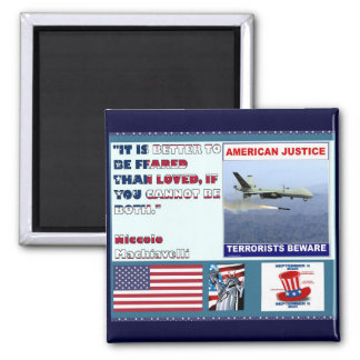 American Justice Airforce Drone Terrorists Beware Magnet