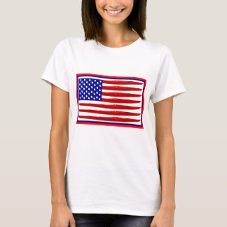 American Kayak Flag T-Shirt