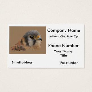 American Kestrel Business Card