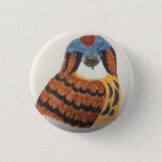 American Kestrel Button