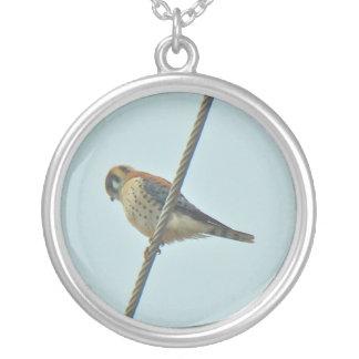 American Kestrel (Falco sparverius) Items Personalized Necklace