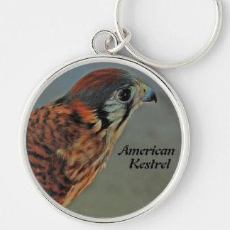 American Kestrel (falco sparverius) keychain