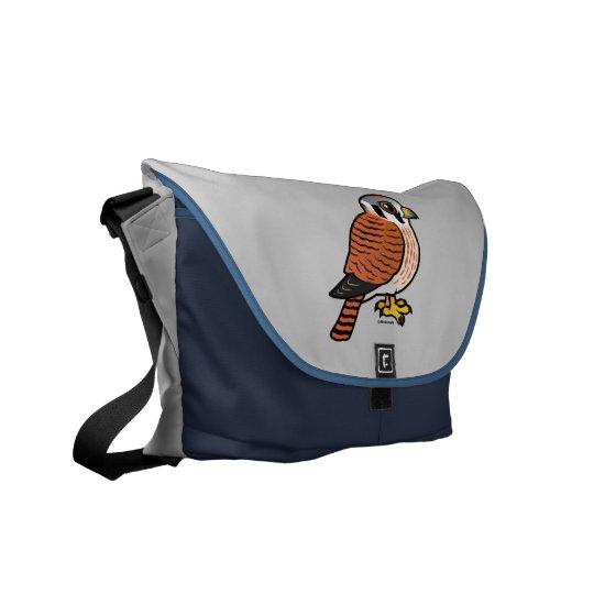 American Kestrel female Courier Bag