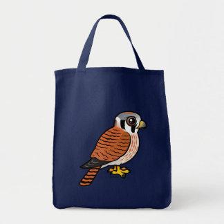 American Kestrel female Tote Bag