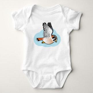American Kestrel in flight Baby Bodysuit