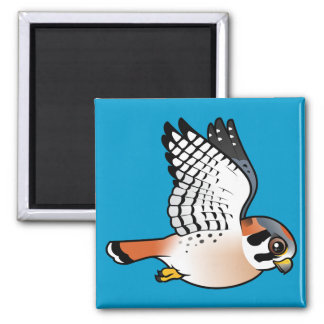 American Kestrel in flight Magnet
