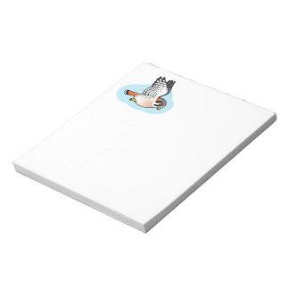 American Kestrel in flight Scratch Pads