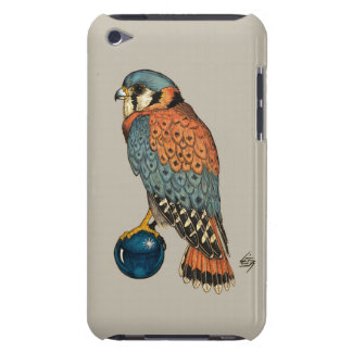 American Kestrel on a grey background iPod Touch Case