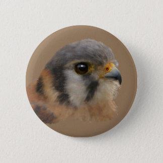 American Kestrel Pinback Button