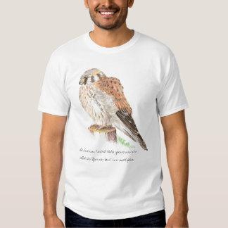 American Kestrel, Wildlife, Nature Bird  Shirt