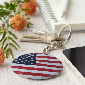 American key chain. USA Keychain