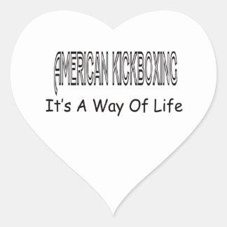 American kickboxing It s A Way Of Life Sticker