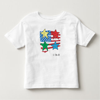 american kid style toddler t-shirt