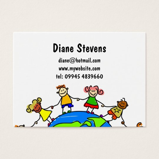 American Kids Business Card
