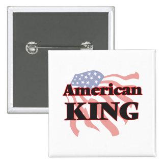 American King 2 Inch Square Button