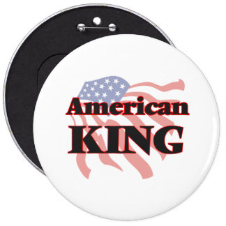 American King 6 Inch Round Button