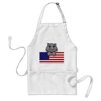 American Kitty Adult Apron