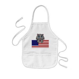 American Kitty Kids' Apron