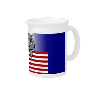 American Kitty Beverage Pitcher