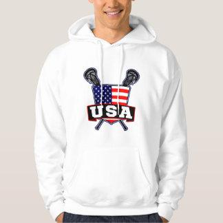 American Lacrosse Logo Hoodie