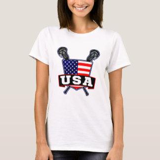 American Lacrosse Logo Tee