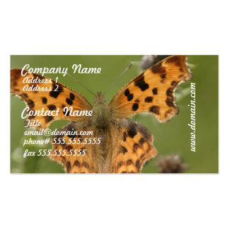 American Lady Butterfly  Business Cards
