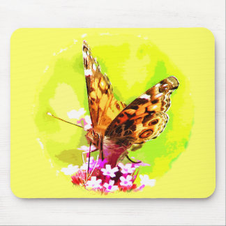 American Lady Butterfly Mousepad