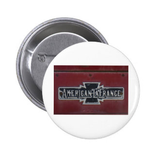 American LaFrance Firetruck Emblem Buttons