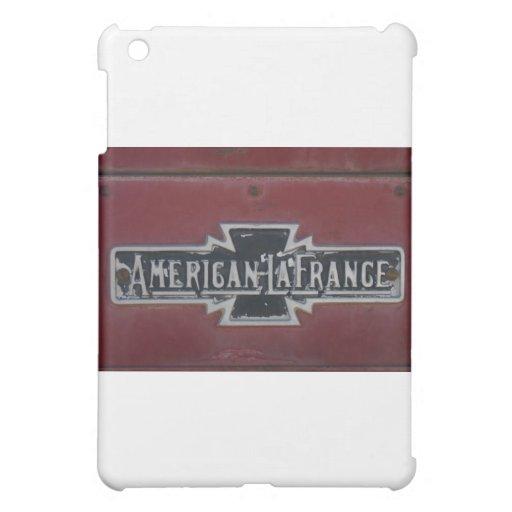American LaFrance Firetruck Emblem iPad Mini Cover
