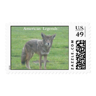 American  Legends The Coyote Postage