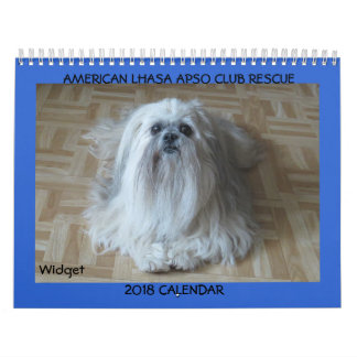 American Lhasa Apso Club Rescue 2018 Calendar Pt.2