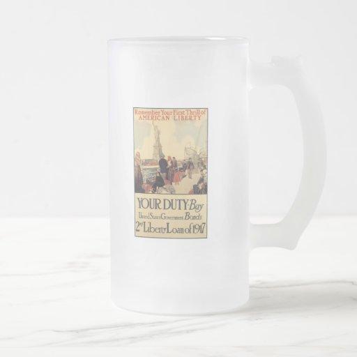 American Liberty World War 2 Coffee Mugs