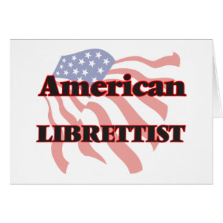 American Librettist Stationery Note Card