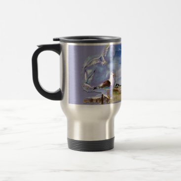 Beach Themed American Lighthouse mug