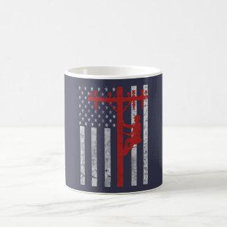 American Lineman Coffee Mug