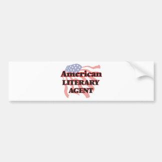 American Literary Agent Car Bumper Sticker