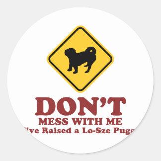 American Lo-Sze Pugg Stickers