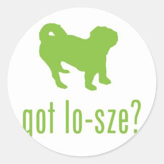 American Lo-Sze Pugg Sticker