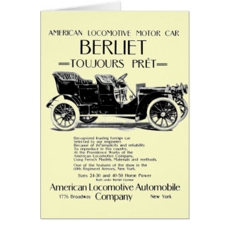 American Locomotive Company - Alco Cars Greeting Cards