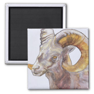 American Long Horn 2004 2 Inch Square Magnet