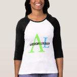 American Longhair Monogram Design T-Shirt