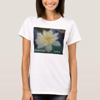 American Lotus, t shirt