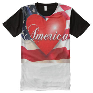 american love All-Over-Print T-Shirt