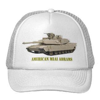 AMERICAN M1A1 ABRAMS  TANK TRUCKER HAT