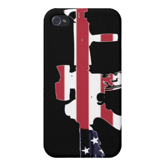 American M4 Case For iPhone 4