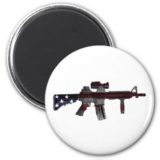 American M4 Fridge Magnet