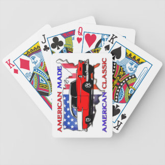 American Made 50s Muscle Car Playing Cards