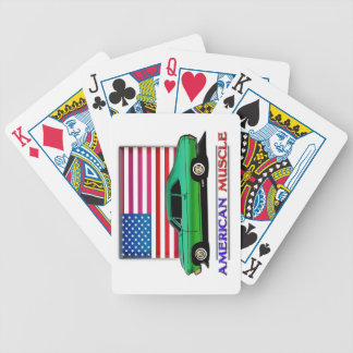 American Made 70s Muscle Car Playing Cards