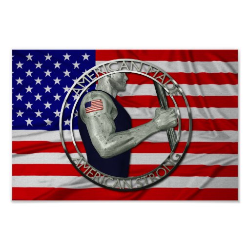 American Made American Strong Print