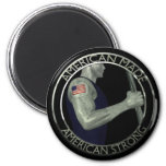 American Made American Strong Refrigerator Magnet